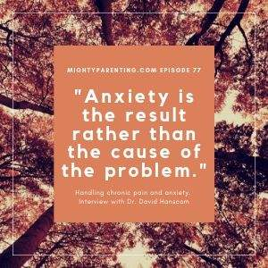 handling chronic pain and anxiety - anxiety is not the cause