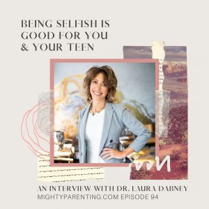Dr. Laura Dabney tells us when being selfish is good.