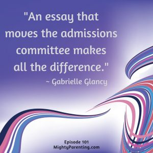 a college admissions essay that moves the committee makes all the difference