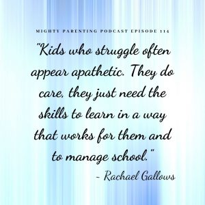 kids who struggle in school can appear apathetic