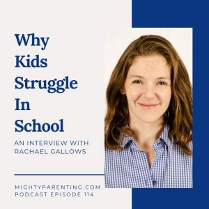 Rachael Gallows helps teenagers who struggle in school