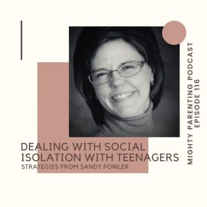 Sandy Fowler strategies for dealing with social isolation