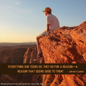 Why teenagers engage in risky behavior