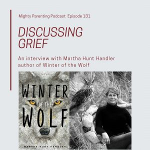 discussing grief in Winter of the Wolf