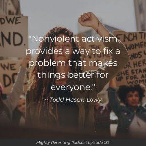 nonviolent activism quote