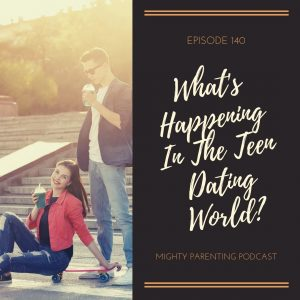 What is happening in the teen dating world?