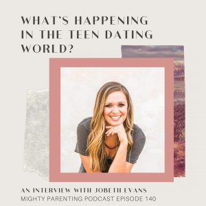 JoBeth Evens talks about teen dating.