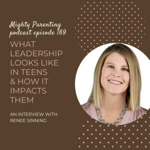 Renee Sinning talks about leadership in teens