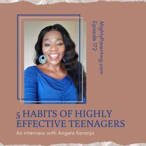 Angela Karanja talks about highly effective teenagers
