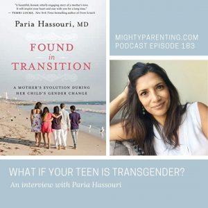 Paria Hassouri discusses transgender teens