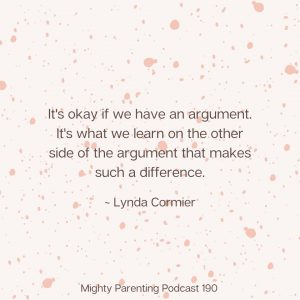 Quote about family arguments