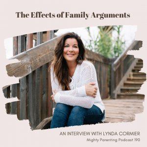 Lynda Cormier talks about family arguments