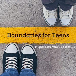 boundaries for teens